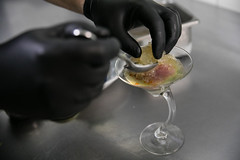 Chef prep: Tipsy oysters and yellowfin tuna