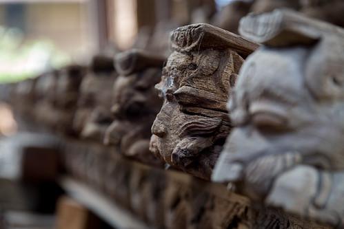 Nepali Wood Carving at Patan Durbar Square