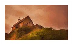 St Nicholas's Chapel on Lantern Hill (williamwalton001) Tags: pentaxart borders building devon unitedkingdom grasses awardtree netart ii