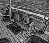 Cleat on Old Wooden Deck (RiverBearPhoto) Tags: ferry boat historic vintage columbia river tourist no 2 wooden cleat astoria