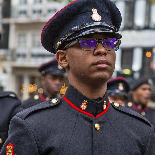Army Cadet Force, Lord Mayor's Show, London, 11 Nov 2017