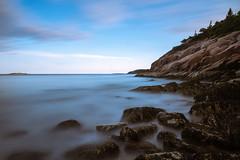 Smooth Acadia (Darren LoPrinzi) Tags: 5d canon5d newenglandtrip2017 canon miii newengland longexposure acadia acadianationalpark ocean smooth rocks park nationalpark blue me maine barharbor barharborme seascape nature