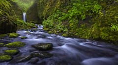 Mossy Grotto Falls (Columbia Gorge, OR) (Sveta Imnadze) Tags: nature landscape mossygrottofalls columbiagodge pacificnorthwest oregon