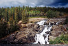 Cameron Falls in Late Summer (Derrick.Midwinter) Tags: waterfall northof60° northwestterritories north longexposure cameronfalls