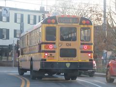 New Paltz CSD #124 (ThoseGuys119) Tags: newpaltzny newpaltzcentralschools schoolbus ic ce