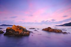 DSC_16852 (pattana92392) Tags: seawave sea longexposure sunset coast water fineart stone