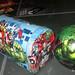 20170603 - yardsale haul - Avengers mailbox and The Hulk ball - 140123