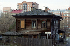 Деревянный дом (malan10) Tags: woodenhouse autumn