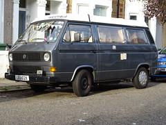 1982 Volkswagen Transporter Camper Van (Neil's classics) Tags: vehicle van camper 1982 volkswagen transporter vw t3 t25 camping motorhome autosleeper motorcaravan rv caravanette kombi mobilehome dormobile
