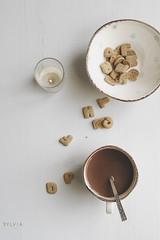 A touch of warmth (Sylvia Houben) Tags: symbolism warmth atouchofwarmth cookies hotcocoa tealight autumn otoño