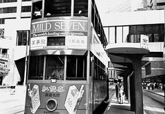 Tram smokes (Steven & Joey Thompson) Tags: tram smokes advertising cigarette 1987