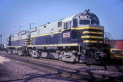 BRC Alco C424 605 (Chuck Zeiler) Tags: brc beltrailwayofchicago alco c424 605 railroad locomotive train northlake giballbach chz