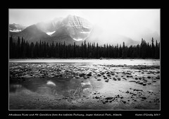 Stormy afternoon with the Athabasca River, Mount Geraldine and Whirlpool Mountain (right) beyond from the Icefields Parkway, Jasper National Park, Alberta (kgogrady) Tags: athabascariver icefieldsparkway jaspernationalpark landscape mountgeraldine stormy summer whirlpoolmountain jasper alberta canada acros albertariver 2017 blackandwhite canadianlandscapes blackwhite canadianrockies afternoon canadianriver albertalandscapes bw canadianmountains canadiannationalparks ab canadianrockieslanscape westerncanada cloudy cans2s fujifilm xf18135mmf3556oiswr trees longexposure fujifilmxt2 fujinon xt2 parkscanada photosofjaspernationalpark picturesofjaspernationalpark