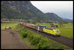 TX Logistik 193 552, Langkampfen 11-05-2017 (Henk Zwoferink) Tags: langkampfen tirol oostenrijk at txl alpha trains henk zwoferink vectron tx logistics 189 997 loc more siemens x4e mrce