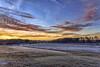 Frosty Morning - 111817-075342 (Glenn Anderson.) Tags: sun nikon outdoor sky cloud skyscape solar serene morning landscape trees cloudsstormssunsetssunrise sunrise ncsureasearchfarmatcherryhosptial pasture frost fenceline