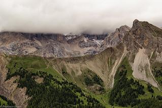 Nuvole sul Passo S. Nicolò
