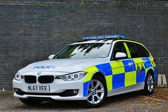 NL63 XEE (S11 AUN) Tags: durham constabulary bmw 330d 3series xdrive touring anpr police traffic car roads policing unit rpu 999 emergency vehicle policeinterceptors nl63xee
