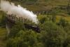 Vapore / Steam (Glenfinnan Viaduct, Scotland,  United Kingdom) (AndreaPucci) Tags: glenfinnan viaduct scotland uk hogwartsexpress harrypotter steam train jacobite andreapucci