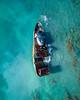 Waikiki Shipwreck (tburt50) Tags: shipwreck ship wreck waikiki oahu honolulu pacific ocean blue reef rust