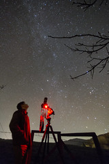 Looking back in time (kerryn rice) Tags: triangulum elliptical dwarf esa nasa stargazinglive stargazing astro astrophotography 70200 7d2 canon startracker wales dark milkyway galaxy planets space november observed earth taurus cluster star messier sky human tripod tree cold blue red mountain hill