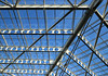 Structure (happiness is...photography) Tags: structure blue light lines sky building hotel grapevine gaylord