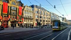 Winterresidentie (Peter ( phonepics only) Eijkman) Tags: amsterdam city combino gvb sinterklaas sintnicholaas tram transport trams tramtracks trolley rail rails strassenbahn streetcars nederland netherlands nederlandse noordholland holland