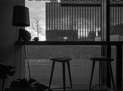 Katowice, Poland. (wojszyca) Tags: fujica fuji gsw680iii 6x8 mediumformat rangefinder fujinon sw 65mm ilford hp5 hc110 163 gossen lunaprosbc epson v800 interior architecture mck ktw urban city modernism minimalism repetition reflection geometry