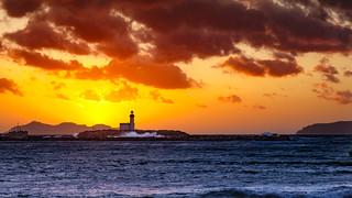 sunset lighthouse - Trapani - Italy - (explored)
