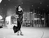 Angie (NoahWmR12) Tags: pro film black white mamiya rz67 ii kodak iowa model asian elegant bw expired dress fashion