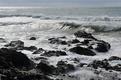 Yachats Rocks (Sotosoroto) Tags: yachats oregon oregoncoast sea shore coast ocean pacific pacificocean rocks beach waves