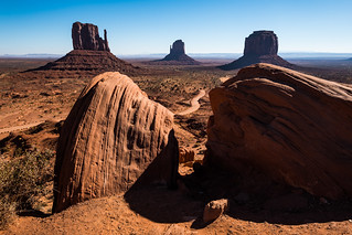 Monument Valley | Taylor Rock Viewpoint [Explored]