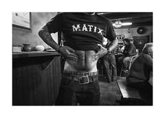 Potbelly (Jan Dobrovsky) Tags: band leicaq potbelly pub brewery monochrome people reallife blackandwhite document tatoo social krumlov indoor