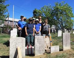 2017 Conservation Crew Members (Spirits Alive at the Eastern Cemetery) Tags: byjalexander easterncemetery spiritsalive volunteers janet bill martha sarah diane anne elena