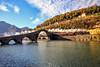 Treno a vapore della Garfagnana (MaOrI1563) Tags: trenoavapore lucca pontedeldiavolo pontedellamaddalena borgoamozzano garfagnana bagnidilucca serchio valledelserchio castelnuovodigarfagnana brancoli toscana tuscany italia italy fumo ponte acqua fiume maori1563