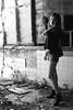 水里老街 (Aston Chen) Tags: portrait ruins 廢墟 nantou monochrome