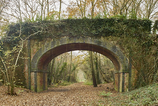 Bridge over Meon Valley Line