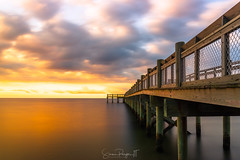 Walkway to Your Dreams (Simmie | Reagor - Simmulated.com) Tags: 2017 albertmunroepier clouds connecticut connecticutphotographer fall landscape landscapephotography longislandsound milford nature naturephotography newengland november outdoors pier seascape stormy sunrise unitedstates walnutbeach beach cloudy colorful ctvisit digital dramatic https500pxcomsreagor httpswwwinstagramcomsimmulated overcast water wwwsimmulatedcom