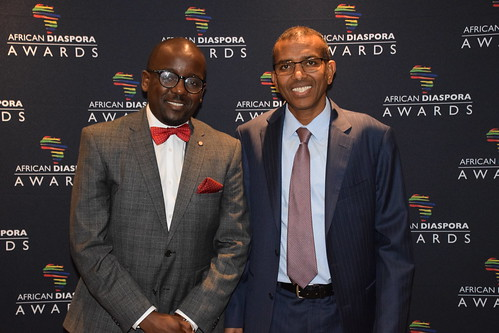 DSC_3799 African Diaspora Awards (ADA) Ceremony and Christmas Ball Conrad Hotel St. James London with Conrad Mwanza from Zimbabwe and Dr Ismail Ahmed from Somalia Founder and CEO World Remit