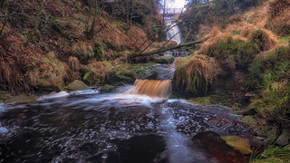 Hidden falls...