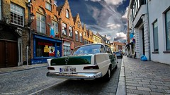 beautiful Car - 4210 (YᗩSᗰIᘉᗴ HᗴᘉS +10 000 000 thx❀) Tags: car voiture road rue town bruges flandres be bel aa belgium belgique house city scene sky europa architecture hensyasmine yasminehens saariysqualitypictures