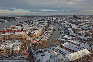 the Dordrecht Christmas market