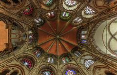 St. Geron in Köln (ulrichcziollek) Tags: nordrheinwestfalen köln kirche kirchen church eglise romanisch romanik spätantik stgereon decke deckengewölbe rippengewölbe
