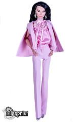 "Beautiful pink outfit from ""Michaela X ELENPRIV"" collection (elenpriv) Tags: pink outfit elenpriv elena peredreeva handmade michaela unbehau collection shades grey hanne erickson 16inch fashion doll fashionroyalty integrity toys jason wu dolls fr16"