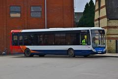 Stagecoach Norfolk 25128 YJ57YCD - Kings Lynn (KA Transport Photography) Tags: stagecoach norfolk 25128 yj57ycd kings lynn
