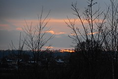 17 - Lumière vespérale (melina1965) Tags: 2017 décembre december bourgogne burgondy nikon coolpix s3700 saintvallier campagne opencountry hiver winter ciel sky nuage nuages cloud clouds arbre arbres tree trees