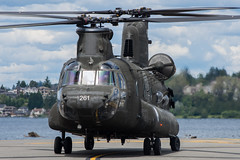 GUARD 261 (Kaiserjp) Tags: 9100261 ch47 ch47d ftlewis guard261 grayaaf jblm military army helicopter boxcar myoldlady