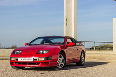 Nissan 300ZX (Ludo2Besac) Tags: jdm rouge red 300 zx nissan car supercar worldcars voiture origine full stock canon eos 600d 50mm
