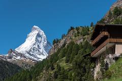 Matterhorn (hugo.sergio) Tags: hugosergio d750 nikon nature mountains cabin matterhorn swiss trees blue 2017 zermatt travel alps hugosergiophoto glacier sky trip landscape europe switzerland mountain instagram
