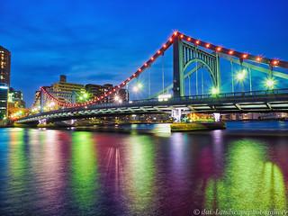 清洲橋夜景