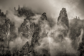 Mist by Cathedral Spires